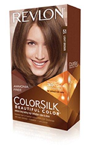 Revlon Colorsilk Beautiful Color Hair Color, Medium Ash Brown
