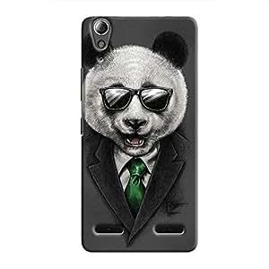 Cover It Up Panda Boss Hard Case for Lenovo A6000 - Multi Color