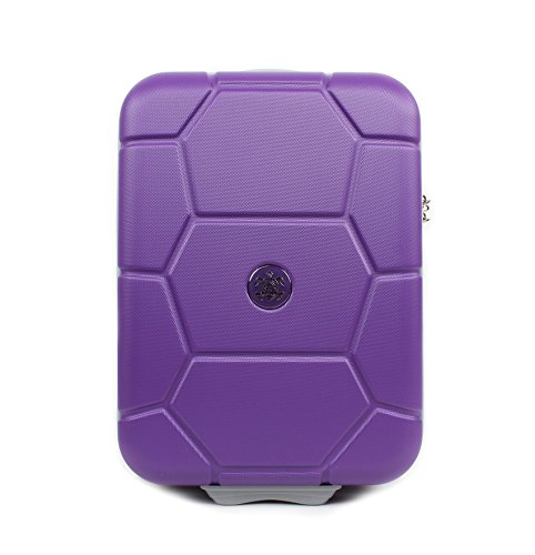 suitsuit leicht Spinner Koffer Carretta violett Spannung–45,7cm (Carry On geprüft) Plus beau Perry Tasche für Life