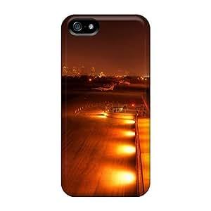 Premium Tpu Sleepy City Airport Cover Skin For Iphone 5/5s