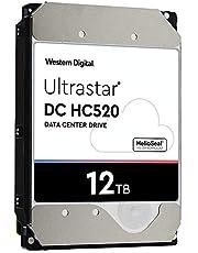 HGST - WD Ultrastar DC HC520 HDD   HUH721212ALE600   12TB 7.2K SATA 6Gb/s 256MB Cache 3.5-Inch Helium Data Center Internal Hard Disk Drive