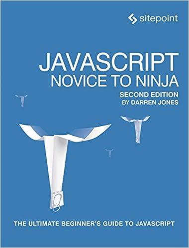 Amazon.com: JavaScript: Novice to Ninja eBook: Darren Jones ...