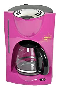 Efbe-Schott Perfect Day - Cafetera de goteo con jarra de cristal, color rosa