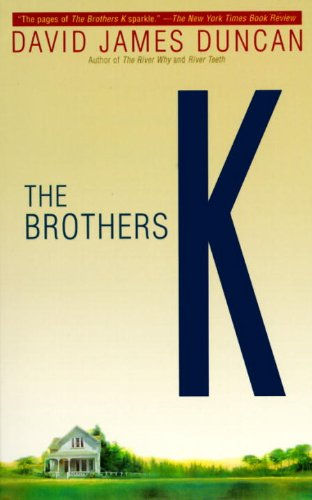 book cover of The Brothers K