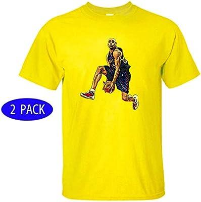 2 Paquete De los Hombres Estrella atlética Logo Camiseta ...