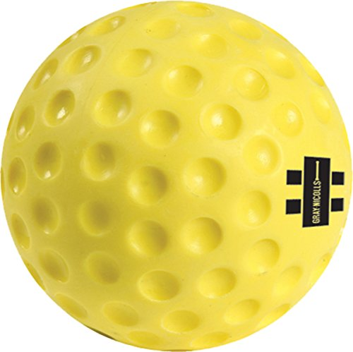 (Gray Nicolls Cricket Sports Bowling Machine Specialist Training Ball Yellow)
