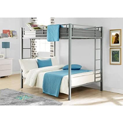 Amazon Com Full Over Full Size Metal Bunk Bed Guard Rail Kid S