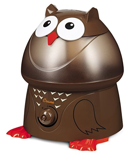 Crane Oscar The Owl Adorable Ultrasonic Cool Humidifier EE8189 (Certified Refurbished)