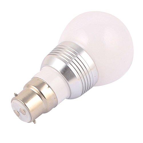 Bombilla Adaptador B22 eDealMax decoración bola de luz de la lámpara LED RGB 5W AC85V-265V w controlador remoto - - Amazon.com
