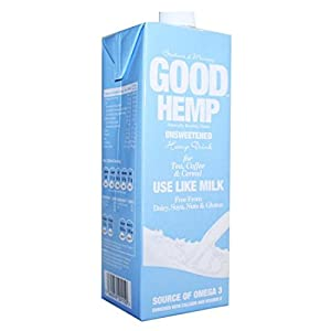 Good Hemp Food | Hemp Drink – Unsweetened | 12 x 1l