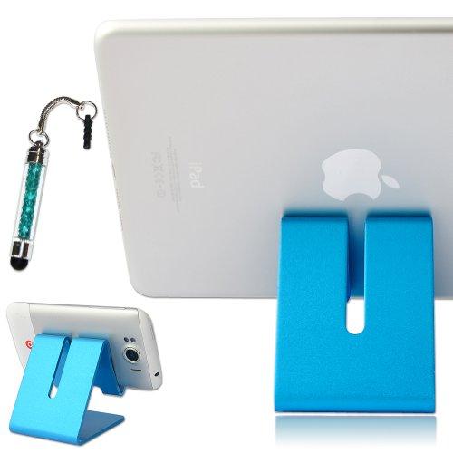First2savvv blue hard Steel stand desktop dock docking station for Acer Iconia A3-A20 10 Inch Tablet FUJITSU STYLISTIC M532 FUJITSU STYLISTIC M702 Tablet FUJITSU STYLISTIC Q572 with stylus pen