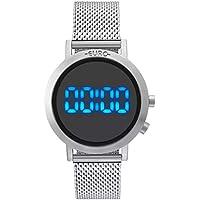 Relógio Feminino Euro Fashion Fit EUBJ3407AB/3P - Prata