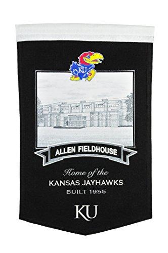 Kansas Jayhawks House (NCAA Kansas Jayhawks Allen Fieldhouse Banner)