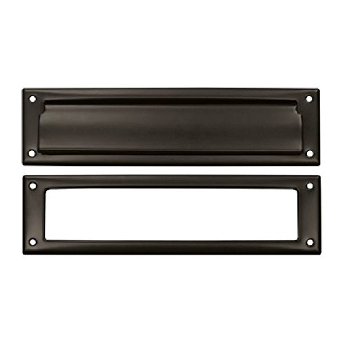 Deltana MS211U10B Slot Door Dimensions:2 1'4'' x 11'' Solid Brass Mail Slot