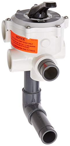 Pentair 18202-0150H ABS 6-Position Union Connection Design Slide Multiport Valve, 1-1/2-Inch Port Size by Pentair