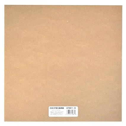 amazon com grafix medium weight chipboard sheets 12 inch by 12