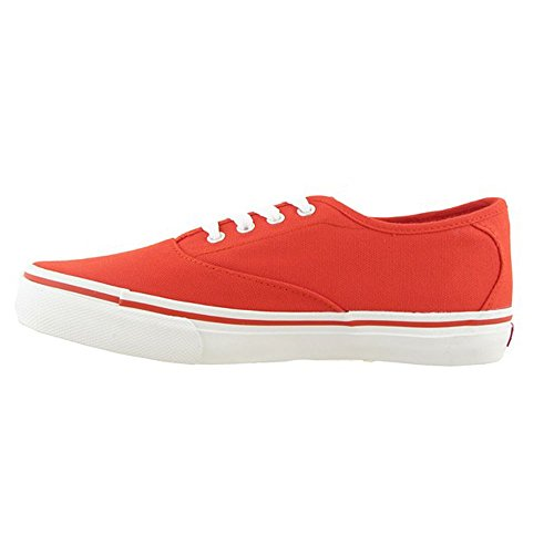 Kappa - Home - 2414462010 - Couleur: Blanc-Rouge - Pointure: 38.0
