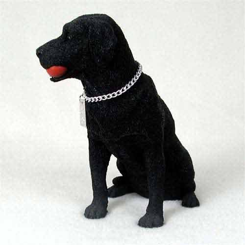Black Labrador Retriever Figurine - Labrador Retriever Black My Dog Figurine