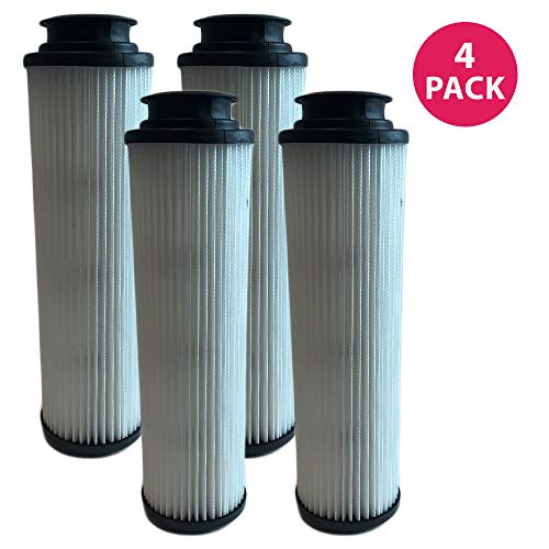 Hepa Replacement Vacuum Filter 40140201 (Think Crucial 4 Replacements for Hoover Windtunnel Bagless HEPA Style Filter Fits Empower & Savvy, Compatible With Part # 40140201, 43611042 & 42611049, Washable & Reusable)