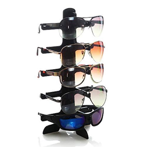 Pantalla que Soporte Show Stent sol muestra Mostrar 5 capas Rack Gafas Gafas Gafas Titular de Moda de sol marco de AqC7vv