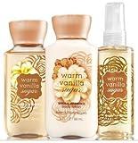 Bath and Body Works Warm Vanilla Sugar Travel size Set