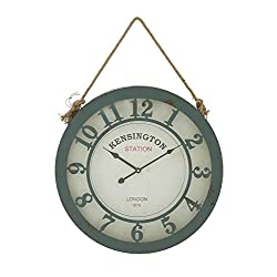 Woodland Imports Amazingly Designed Metal Wall Clock