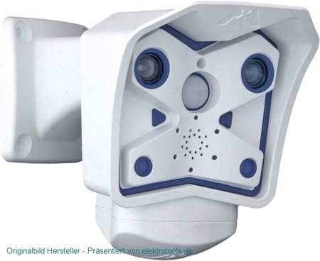 Mobotix - MX-M12D-SEC-DNIGHT-D43N43-R16 - Indoor and Outdoor megapixel dual lens day and night camera including a super -