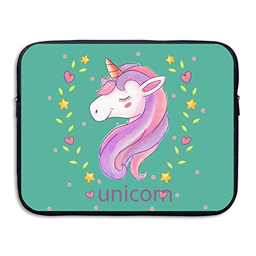 Briefcase Leather Baseball (CHJOO Briefcase Laptop Messenger Bag Slim Sve Unicorn Horse Waterproof 13-15In IPad MacBook)
