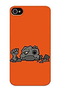 Ednahailey High-end Case Cover Protector For Iphone 4/4s(let Rock)