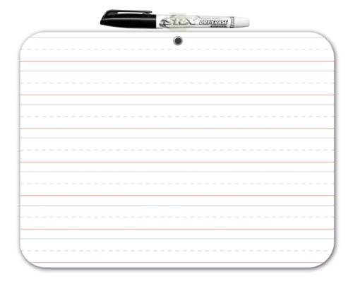 Board Dudes Double Sided Dry Erase Lapboard 9 x 12 Inches (DFB52)
