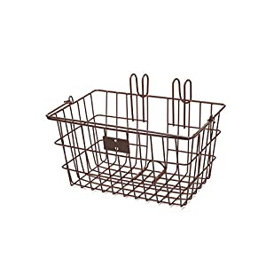 Retrospec Detachable Steel Apollo Lite Lift Off Front Bike Basket with Handles
