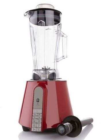 Electric Power Blender 1.87 HP 1400 Watt Red with Six, used for sale  Delivered anywhere in USA