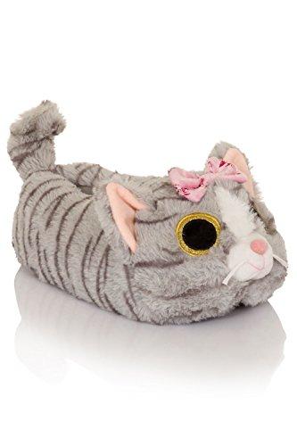 animakes Loungeable femmes confortables Nouvelles Cat pantouffles Chloe pour Boutique qqYROrWAt