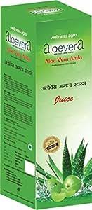 Aloe Vera Amla Juice good in Weight Loss 1000 Ml, Rich source of Vitamin C Herbal