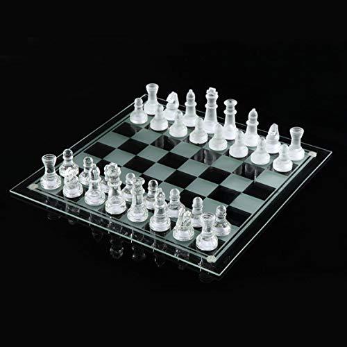 CHUJIAN K9 de ajedrez de Cristal Elegante Internacional de Ajedrez Juego de Lucha del Medio Internacional del Embalaje…