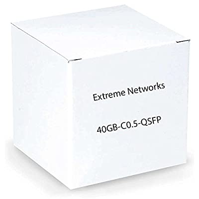 Enterasys Networks 40 Gb, Copper Direct Attach Cable with Integrated QSPF+ Transceivers, 0.5m 40GB-C0.5-QSFP