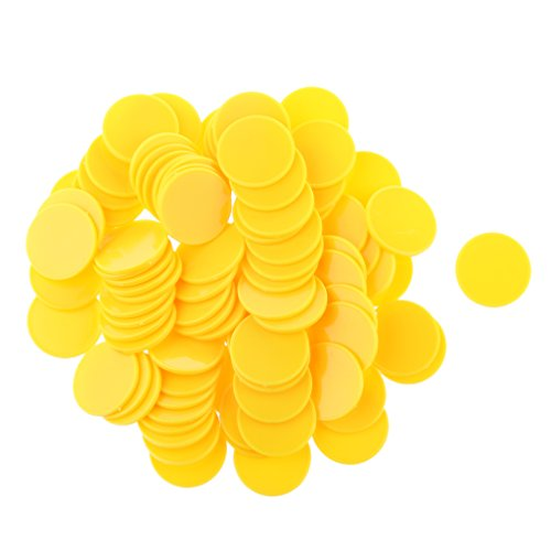 plastic-casino-poker-chip-bingo-marker-token-board-game-kids-toy-gift-yellow-pack-of-100