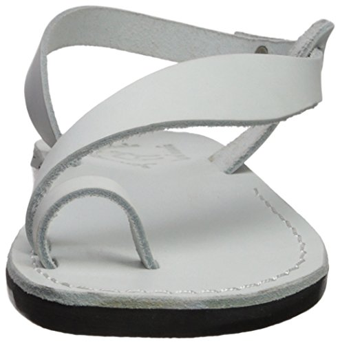 Jerusalem Sandals Womens MIA Sandal White BETDL9fZC