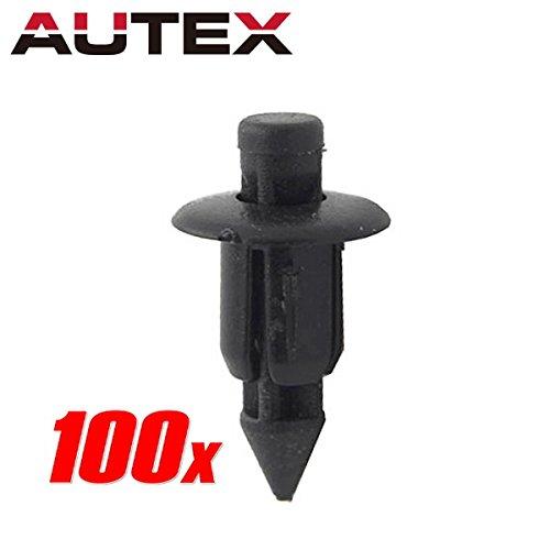 - PartsSquare 100pcs Fender Liner Fastener Rivet Push Clips Retainer Fastener Replacement for Honda ATV