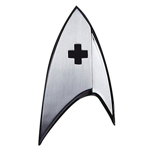 Quantum Mechanix Star Trek Discovery Insignia Badge: (Star Trek Uniform 2017)