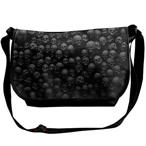 Dark Bags Casual Womens Fashion Shoulder Scary Handbag Skulls One Satchel Bag Grave Black rZv8raqp