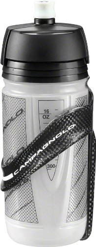 Campagnolo Super Record Water Bottle Cage And Set - Black