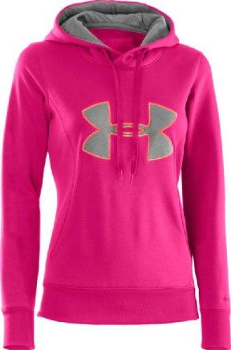 Under Armour Sudadera con Capucha Para Mujer AF Storm Big Logo Hoody, mujer, rosa, XS rosa