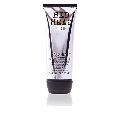 (Tigi Bed Head Hard Head - Mohawk Gel For Spiking & Ultimate Hold 100ml/3.4oz )