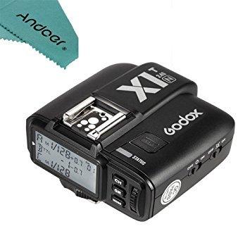 Godox X1T-N TTL 2.4G Wireless Flash Trigger Transmitter for Nikon DSLR Cameras +Andoer cleaning cloth