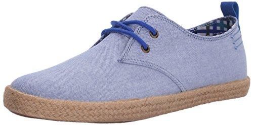 Ben Sherman Men's New Pril Lace up Fashion Sneaker, Blue Chambray-Blu, 8 M US (Blu Mens Sneakers)