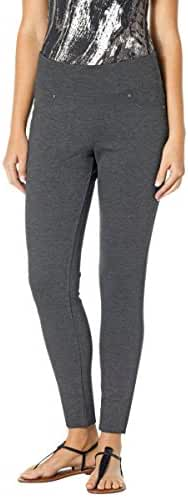 Jag Jeans Women's Petite Ricki Pull On Ponte Knit Legging