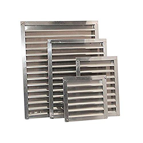 Ventamatic SGV1824 Mill Aluminum Wall and Gable Louvers, 18