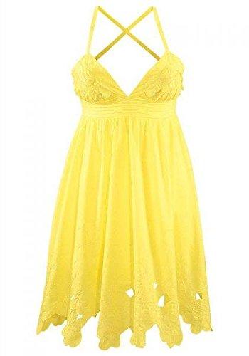 Kleid gelb gunstig