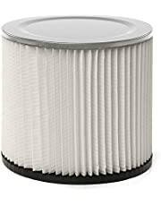 Multi-Fit VF2007 Standard Cartridge Filter for Wet Dry Shop Vacuum, Single - Fits Most Shop-Vac & More